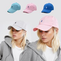 Unisex Sports Cool  POLO Logo Embroidered Baseball Cap Hats [2974244205]
