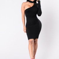 City Of Dreams Dress - Black