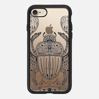 Sacred Sacarab (lines) iPhone 7 Case by Barruf | Casetify