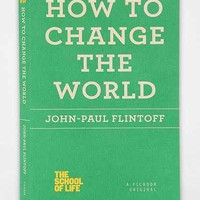 How To Change The World By John-Paul Flintoff- Assorted One