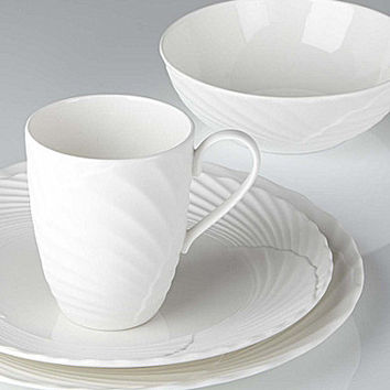 Marchesa by Lenox Pleated Swirl China