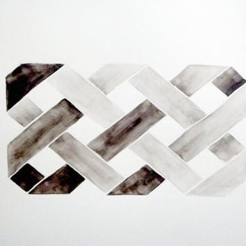 Geometry II - Original Watercolor