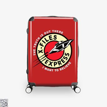 X Files Express, Lord Of The Rings Suitcase