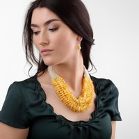 Amber Necklace Autumn Beans | Amber Boutique | Amber Boutique