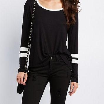 Varsity Stripe Top