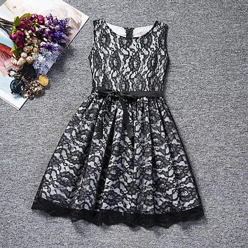Summer Dress For Girl Party Wear Infant Princess Kids Dresses For Girls Clothes Fancy Lace Prom Dress Children Wedding Frocks