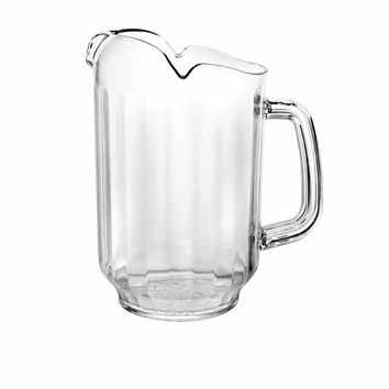 32 Oz Three Spout Water Pitcher/Set of 6