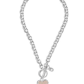Heart Chain Necklace at Guess
