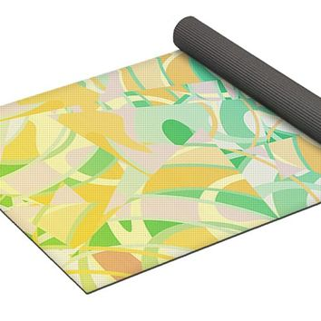 Summer Beach Days Abstract Yoga Mat