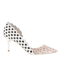 Sophia Webster For J.Crew Anneka Kitten-Heel Pumps