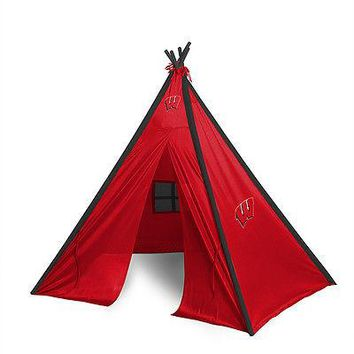 Wisconsin Badgers Teepee Play Tent