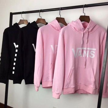ESBON Vans Fashion Hooded Top Pullover Sweater Sweatshirt Hoodie