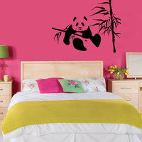 Wall Decals Vinyl Decal Sticker Wall Murals Wall Decor Panda (OS344)