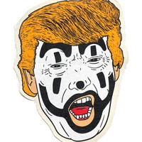Juggalo Trump Large Fabric Back Patch