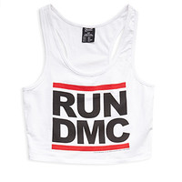 Run DMC Cropped Tank