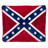 Rebel Flag Queen Comforter