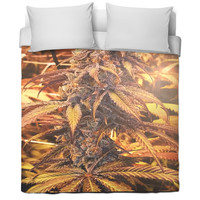 Marijuana Bed Spread