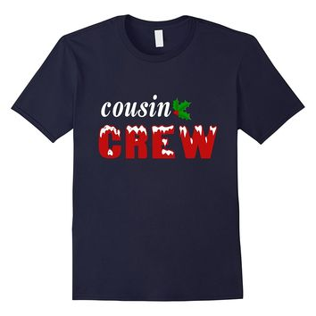 Cousin Crew Merry Christmas T shirt Gift for men- women- kid