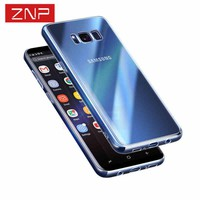 ZNP Clear Ultrathin TPU case for Samsung S8 S8 Plus S7 Transparent Soft cover case for samsung galaxy S7 edge S7 S8 phone bag