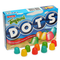 Tropical Dots Candy 7.5-Ounce Theater Packs: 12-Piece Case