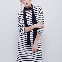 Hot Sale Autumn Slim Stylish Stripes One Piece Dress [4966112260]