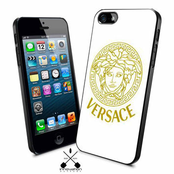 Versace gold logo iPhone 4s iphone 5 iphone 5s iphone 6 case, Samsung s3 samsung s4 samsung s5 note 3 note 4 case, iPod 4 5 Case
