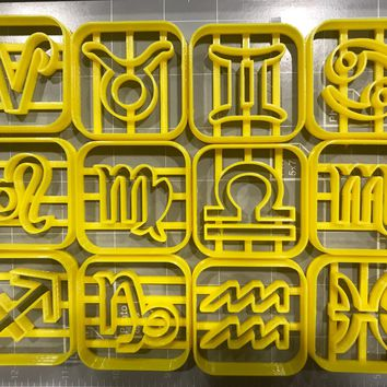 Zodiac Sign Cookie Cutters