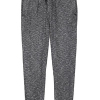 Cotton-Blend Marled Joggers