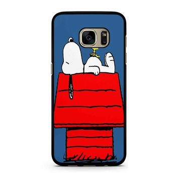 Snoopy And Woodstock Samsung Galaxy S7 Case