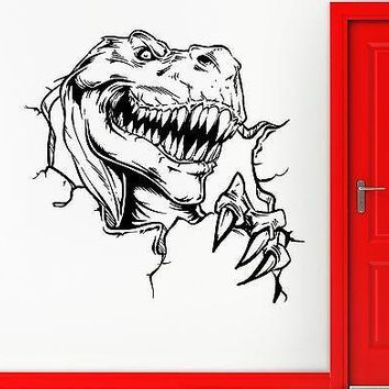 Wall Sticker Vinyl Decal Dinosaur Fantasy Horror for Kids Room Nursery Unique Gift (ig1847)