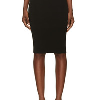 Givenchy Black Two-way Zip Pencil Skirt