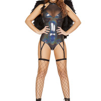 Roma Costume - 1pc Outcast Angel Women's Costume