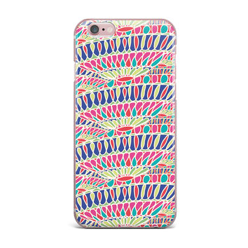 "Miranda Mol ""Abundance"" Magenta Multicolor iPhone Case"