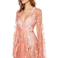 SKIVVIES Flower Bomb Robe