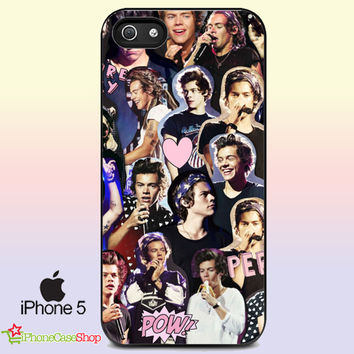 Harry Styles iPhone 5 case Photo Collage