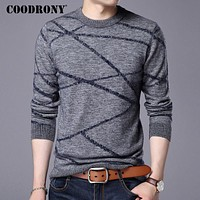Sweater Men New Winter Thick Warm Men Knitted Sweaters Pull Christmas Cashmere Pullover Men