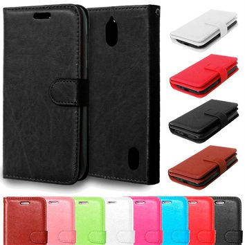 Case for Huawei Y625 Y 625 Luxury Retro PU Leather Flip Cover Case For Huawei Ascend Y625 Cell Phone Back Cover With Card Holder