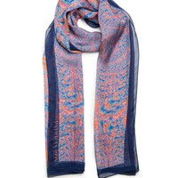 Summer Love Silk Mousseline Scarf