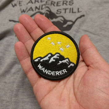 Carl Sagan Space Wanderer Embroidered Patch