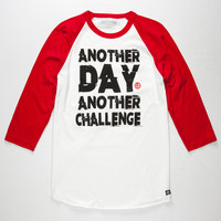 DESTORM Another Day Another Challenge Mens Baseball Tee | L/S & Baseball Tees