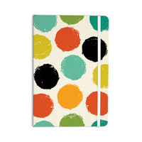 "Daisy Beatrice ""Retro Dots"" Circles Everything Notebook"