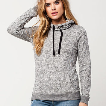 FULL TILT Essential Marled Cowl Neck Womens Hoodie | Sweatshirts & Hoodies