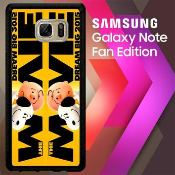 Snoopy And Charlie Brown The Peanuts 2015 Movie V 2104 Samsung Galaxy Note FE Fan Edition Case