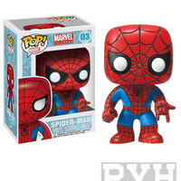 Funko Pop! Marvel: Spiderman - Vinyl Bobble Head