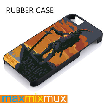 Solaire Of Astora iPhone 4/4S, 5/5S, 5C, 6/6 Plus Series Rubber Case