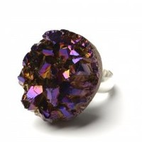Asteroid Ring: Purple  | NOT JUST A LABEL