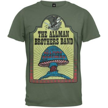 PEAPGQ9 Allman Brothers Band - Hell Yeah T-Shirt