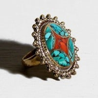 Natalie B - Sunburst Ring - ACCESSORIES