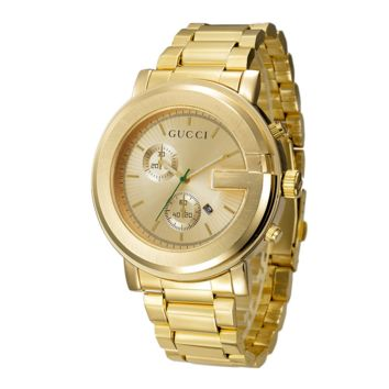 Fashion GUCCI Ladies Men Watch Stylish Watch- Gold