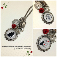 Tale As Old As Time Beauty and the Beast Necklace